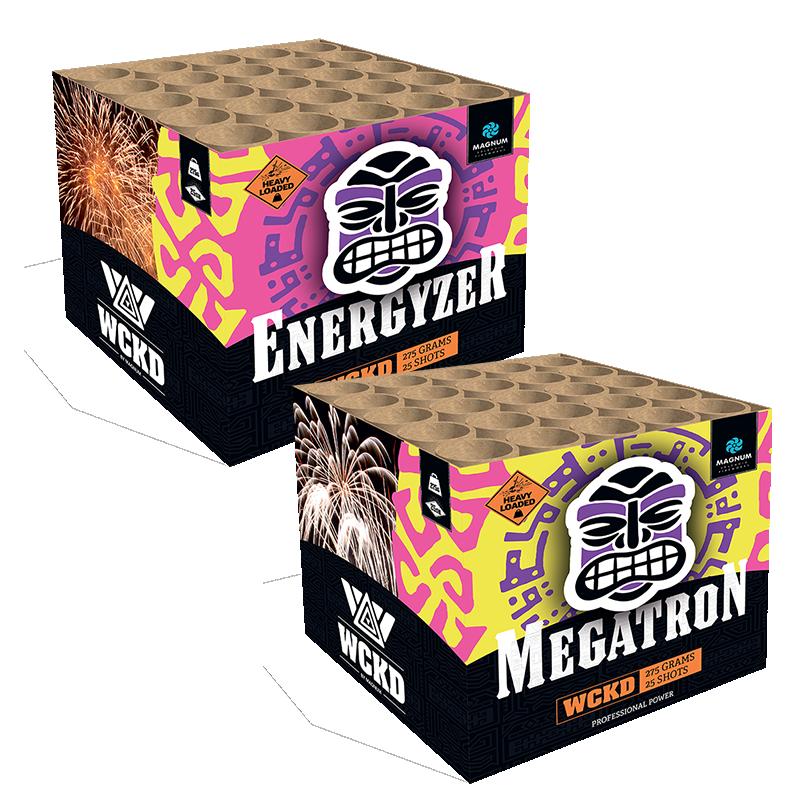 Energyzer & Megatron - 2 voor 1