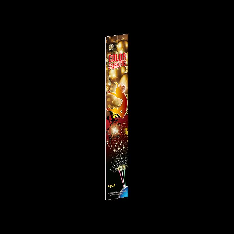 Color Sparklers - 30cm