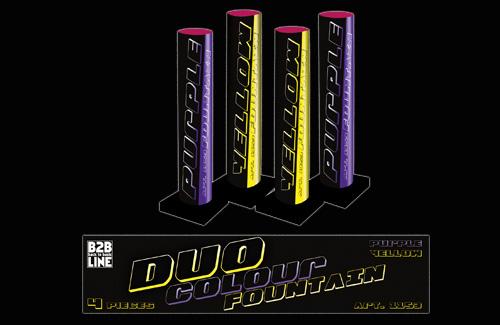 B2B Duo Colour Fontain 4 stuks