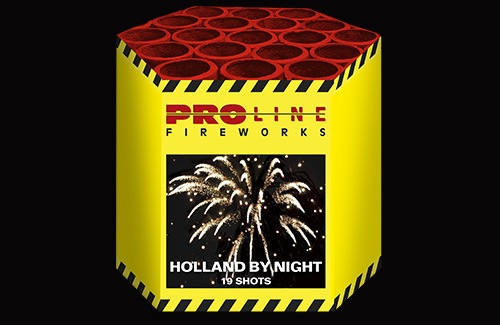 Holland by Night - 19 shots cake