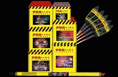 Red Star Vuurwerkpakket