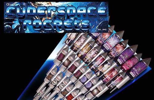 Cyberspace Vuurpijlen - 36 pijlen