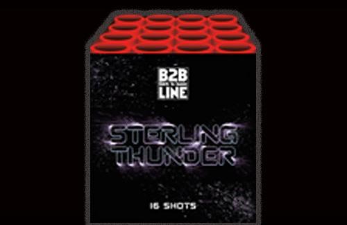 Sterling Thunder - 16 shots cake