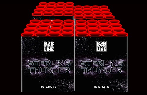 Sterling Thunder - 64 shots cakebox