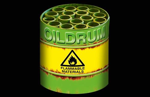 Oil Drum Vuurwerk