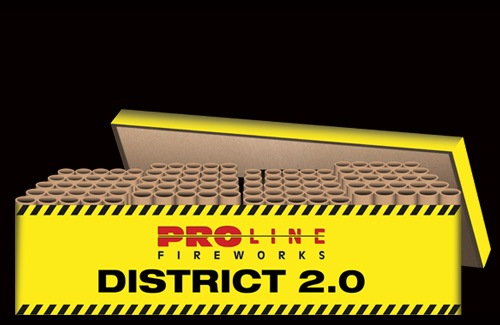 District 2.0 - 100 shots cakebox