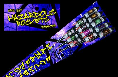 Hazardous Vuurpijlen - 12 pijlen