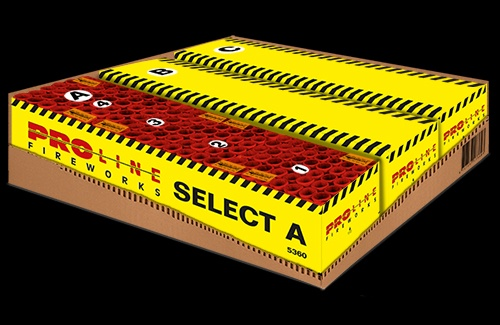 Select A-B-C - 432 shots cakebox