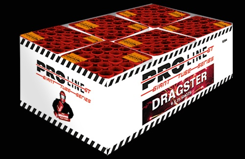 Dragster - 150 shots cakebox