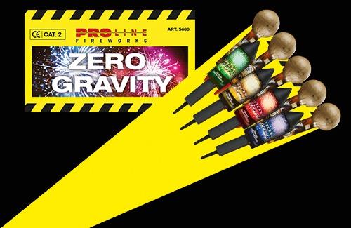 Zero Gravity Vuurpijlen - 9 pijlen