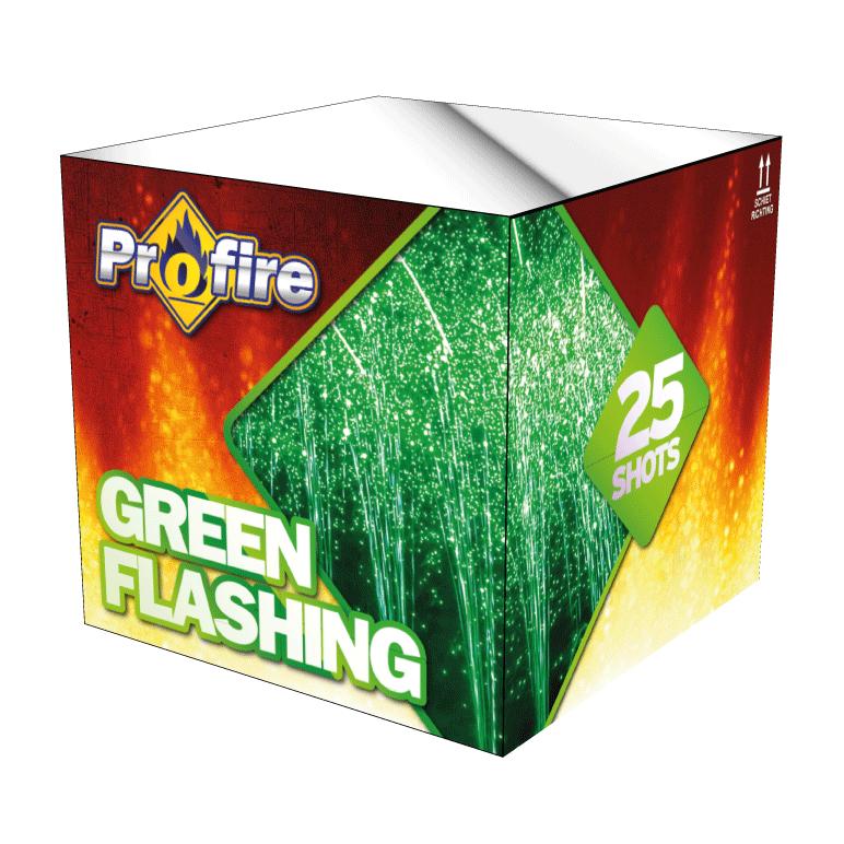 Green flashing
