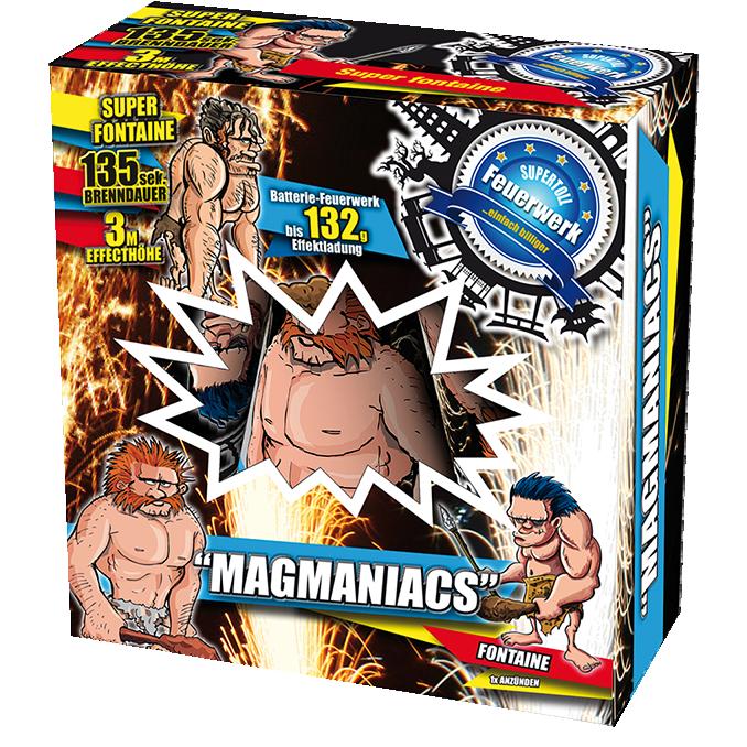 Magmaniacs, 3 stuks