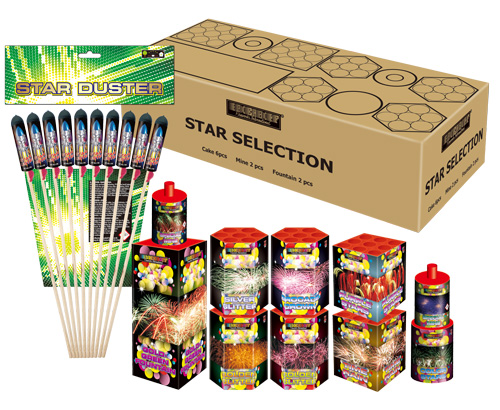 Star selection + starduster