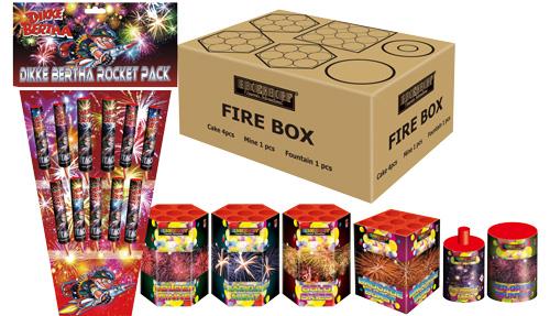 Fire box + dikke bertha