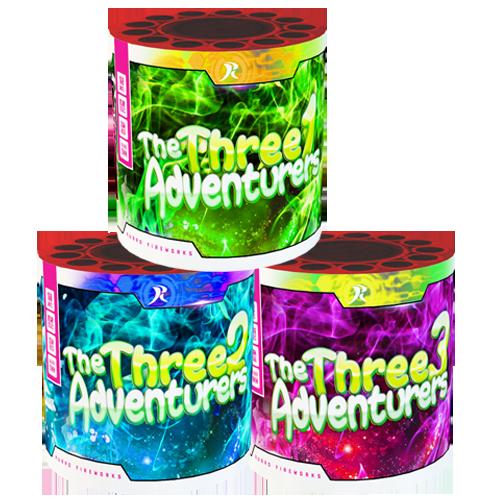 The three adventures