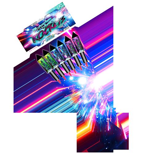 Plutionium rockets 1+1 gratis