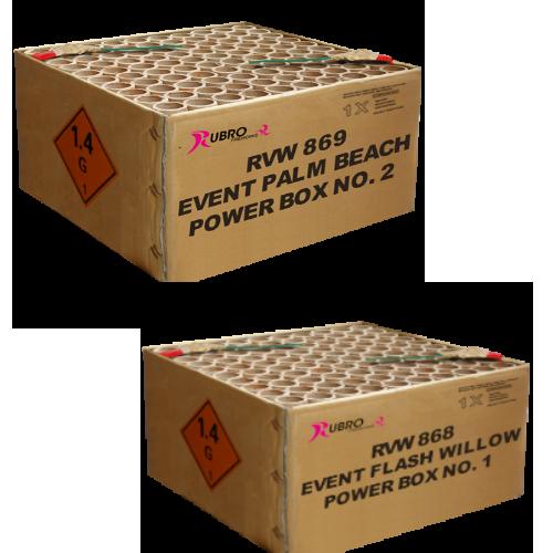 event flash willow en palm beach powerbox 1 en 2