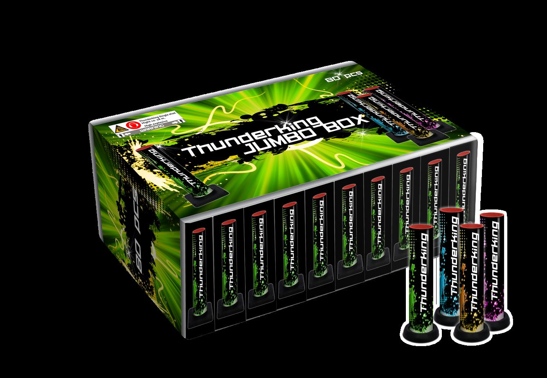 Thunderking Jumbo Box, 80 stuks