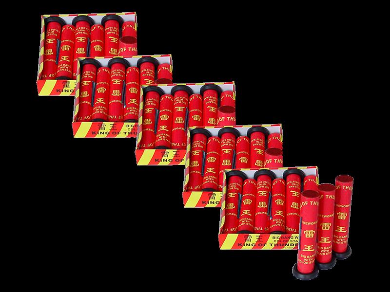 Red Thunder 5 dozen (6 in doos) € 11,-