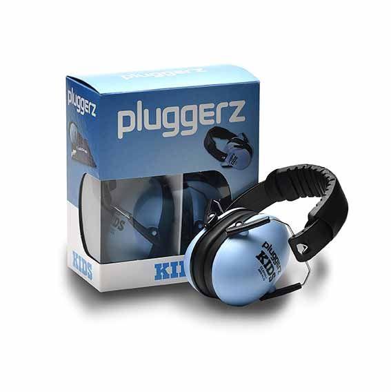 Pluggerz oorkappen blauw