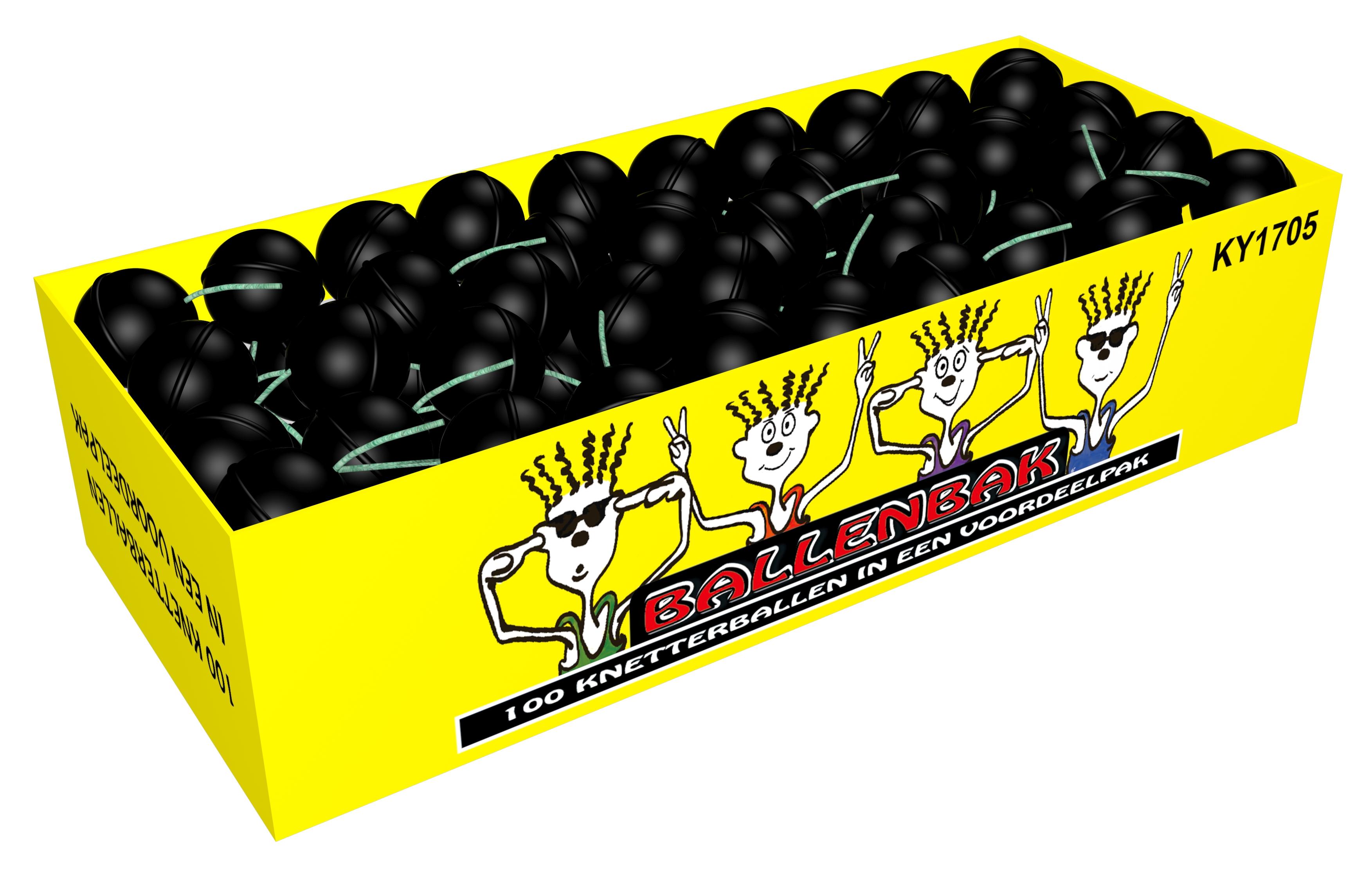Crackling balls box (100 stuks)