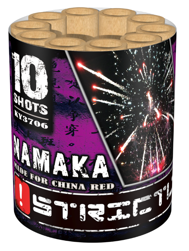 Namaka 10 shots cake met crackling ky3706 china red for Openingstijden intratuin duiven