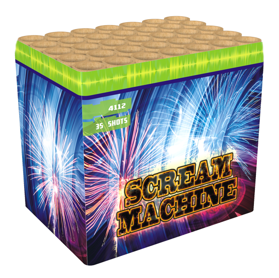 Scream machine wolff 35 shots cake intratuin duiven for Openingstijden intratuin duiven
