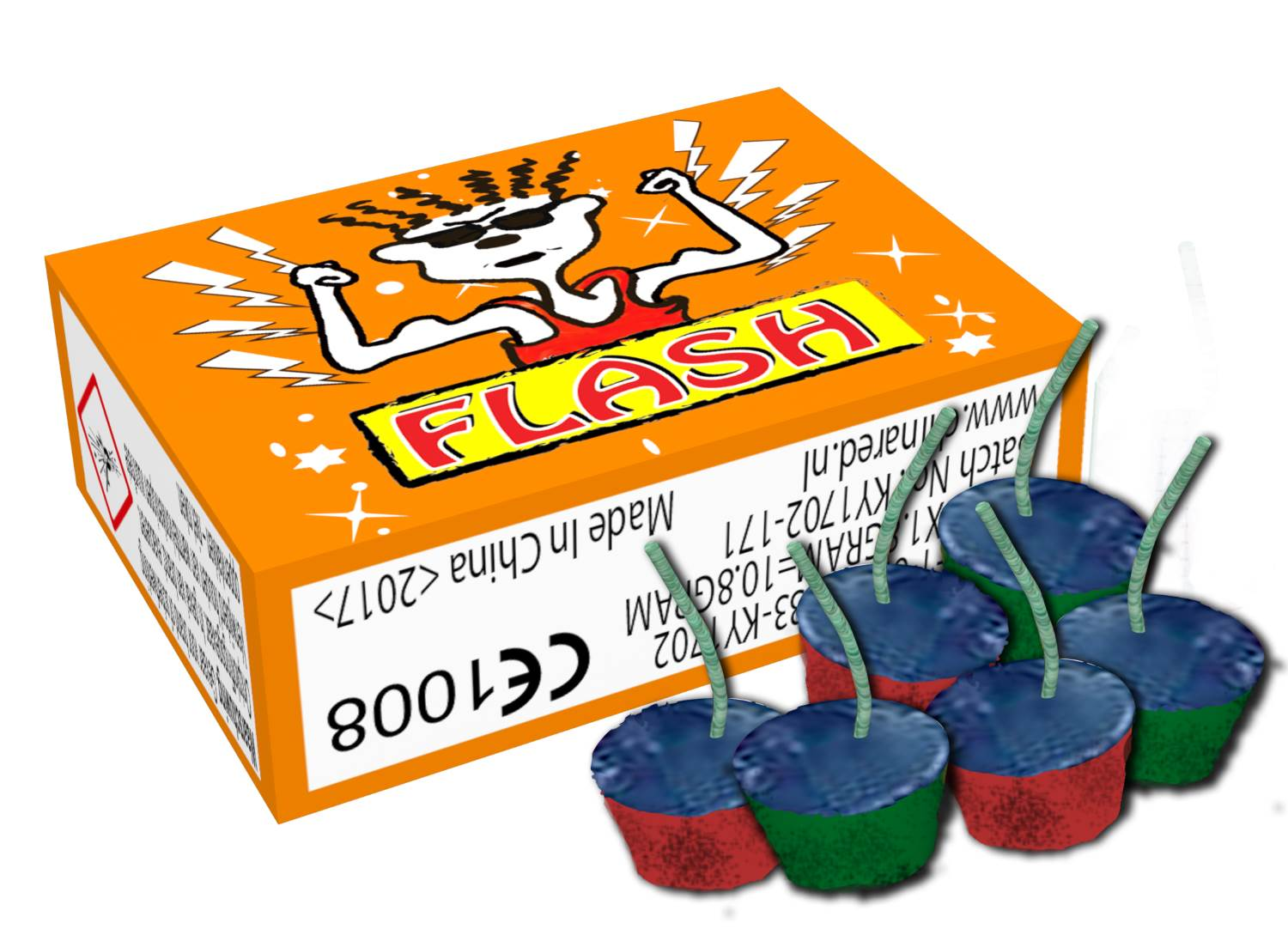 Flash (6 stuks) CAT1