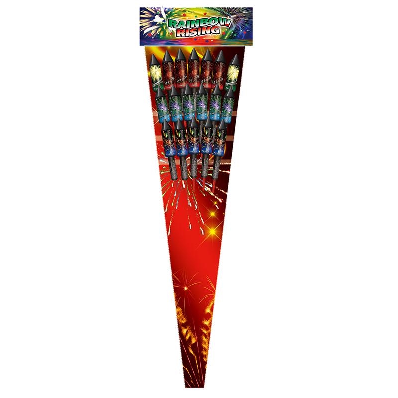 Rainbow Rising (18 pijlen)