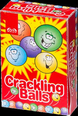 Crackling Balls CAT1 (6 stuks) *
