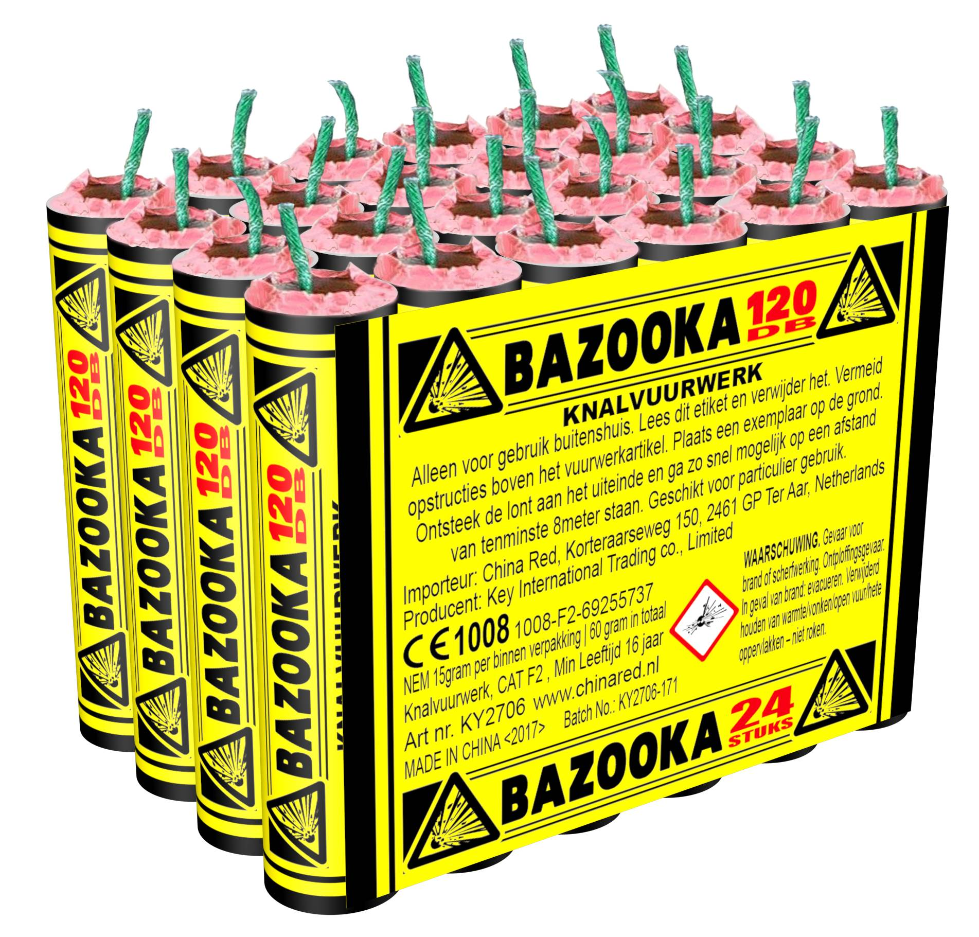 Bazooka (24 stuks)
