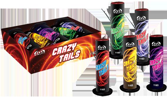 Crazy Tails (5 stuks)