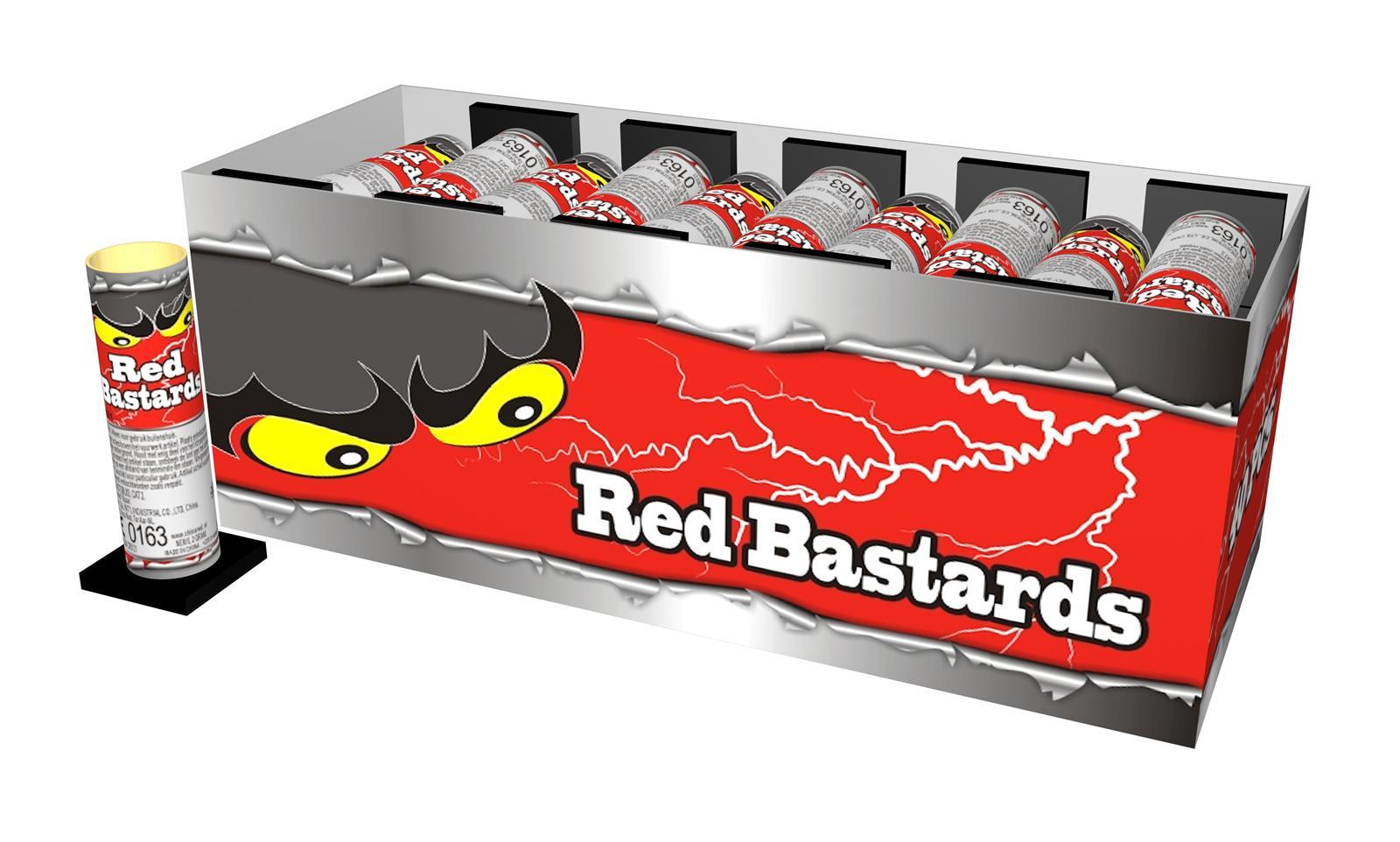 Red Bastards (40 stuks)*