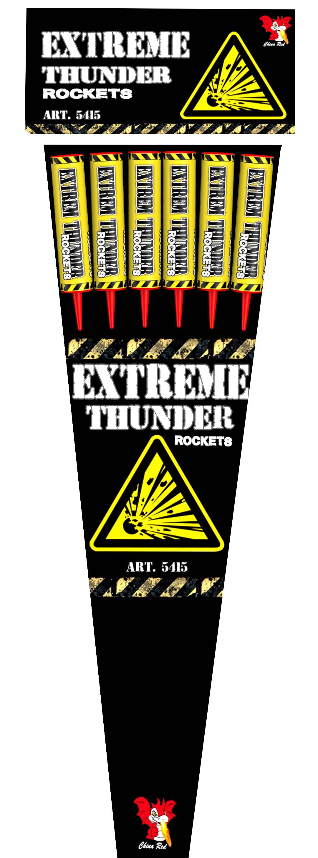 Extreme Thunder Rockets (6 pijlen)