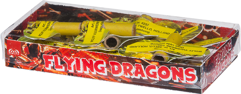 Flying Dragons/Bijtjes (12 stuks)