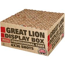 Great Lion display box