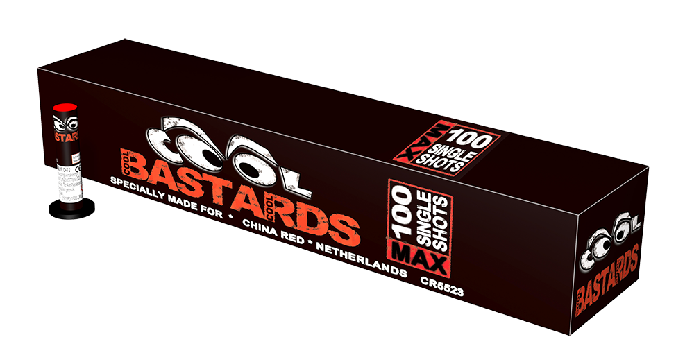 Cool Bastards (100 stuks)