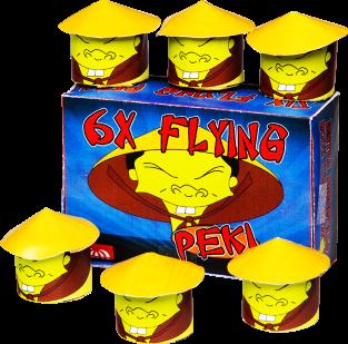 Flying Peki (6 stuks)