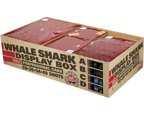 Starshooters Whale Shark profibox