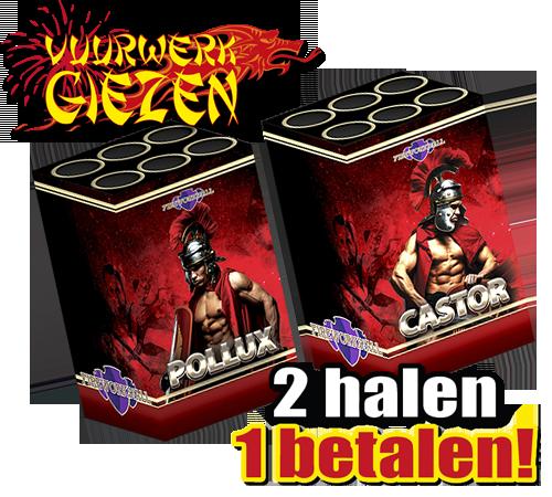 POLLUX & CASTOR 2 HALEN 1 BETALEN