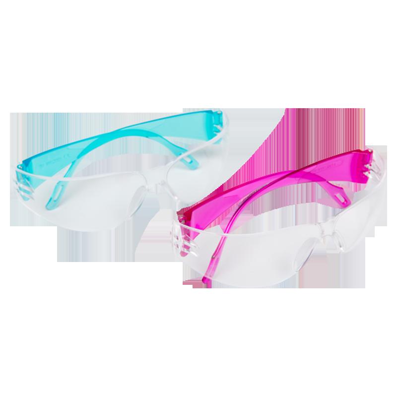 Vuurwerkbril meisjes rose