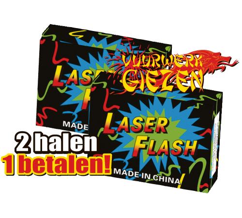 LASER FLASH 2 HALEN 1 BETALEN