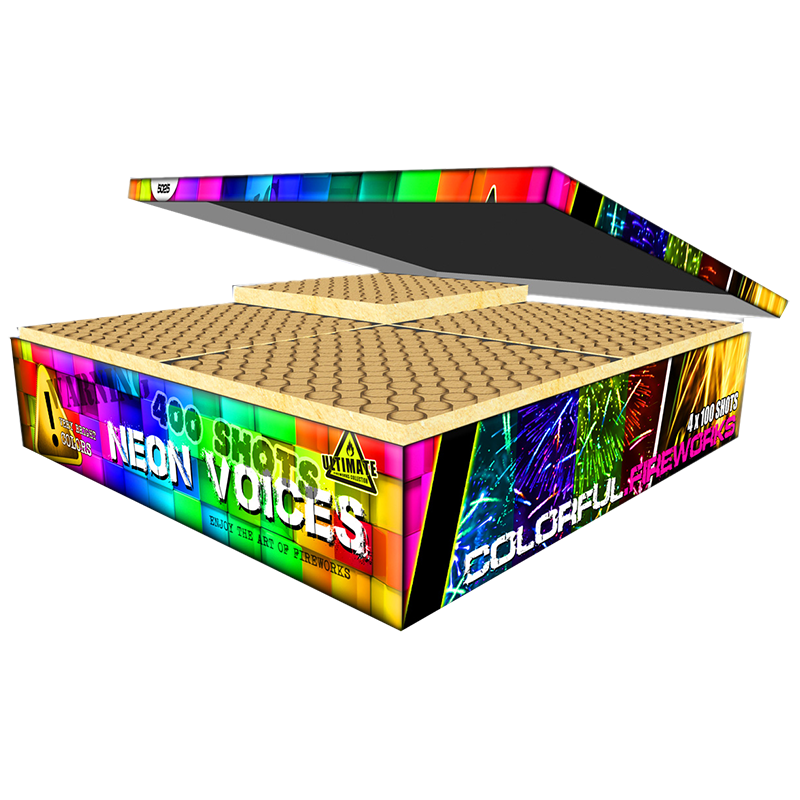 Neon Voices Cakebox
