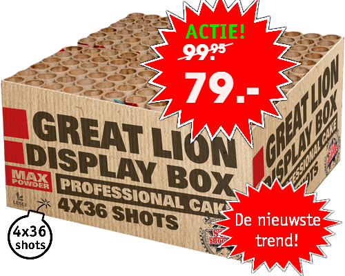Starshooters Great Lion profibox*
