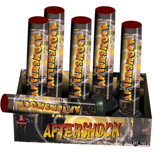 AFTERSHOCK XL, 6 XL mortieren