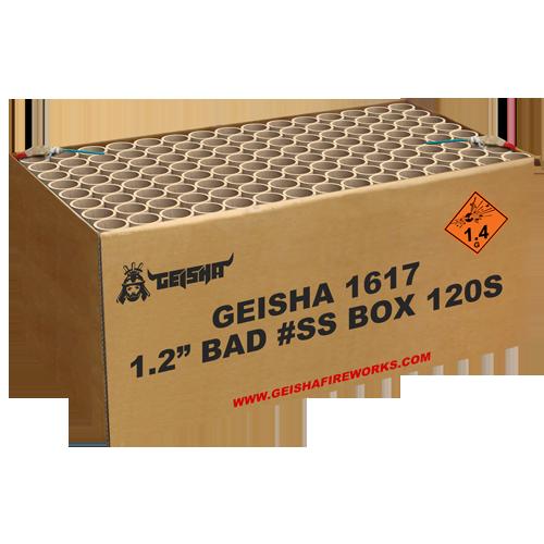 """1.2"""" BAD #SS BOX, 3KG KRUIT!"""