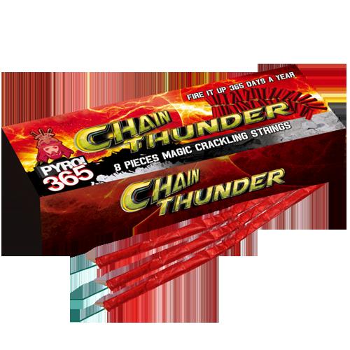 CHAINTHUNDER, 8 stuks
