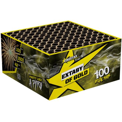 EXTACY OF GOLD BOX, 100 SHOTS!