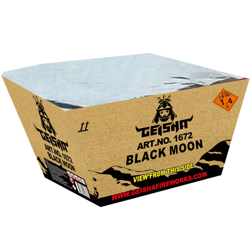 BLACK MOON, 500 GRAM WAAIER!