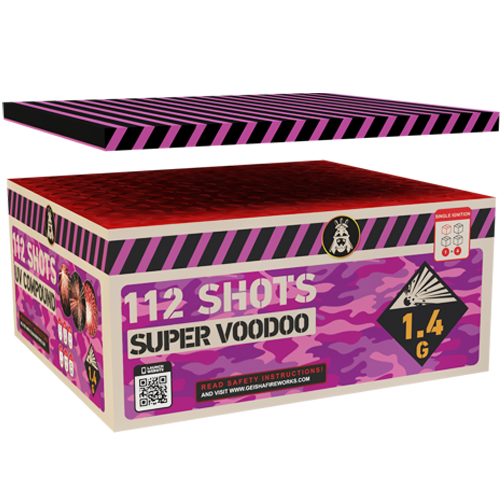 SUPER VOODOO BOX, 112 sh. COMPOUND!
